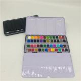 Amazon Hot Sale 48 Colors Vivid Solid Watercolor