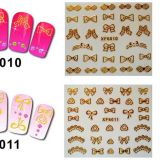 Private Label 3D Metal Nail Sticker More Design Avaiable