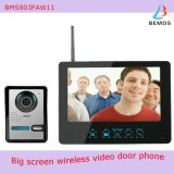 """9"""" Color Wireless Video Doorphone with Pictures Record & Motion Detecting"""