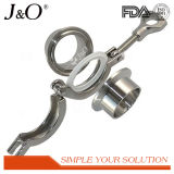 Sanitary Stainless Steel Pipe Fittings Tri-Clamp Union