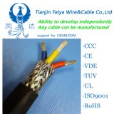 Cu Core PE Insulated PVC Sheathed Woven Cu Wire General Shield Computer Cable