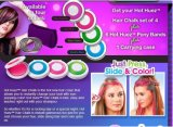 Hothuez Temporary Hair Color Chalk