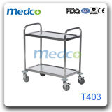 Hospital Stainless Steel Instrument Trolley T403