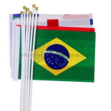 Custom Polyester Fans Sports All Countries Hand Held Flag