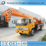 Big Load Capacity 12t Used Pickup Truck Mobile Crane for Sale