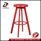 Simple New Design Round Seat Adjustable Vintage Metal Coffee Chair Bar Stool