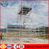Alibab China Factory Hot Sale Aluminium Metal Construction Safety Framwork Rolling Multifunction Mobile Scaffold Tower