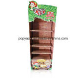 Corrugated Retail Display Chocolate/Wholesale Store Fixtures/Makeup Display Shelf