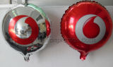 "Customized Vodafone Logo Printed Promotion Gifts 18"" Foil Balloon"