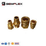 Carbon Steel / Brass Material of Quick Coupler for Pressure Washer Hose