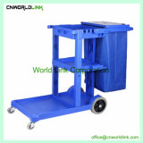 Universal Hotel Plastic Cleaning Service Trolley
