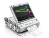 CE, FDA Approved WiFi Ctg Fetal Maternal Monitor with Twins