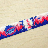 Custom Full Color Printing Elastic with Client Logo