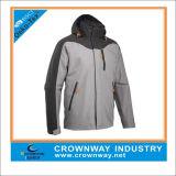 Custom Men Breathable Waterproof Jacket with Flexible Hood