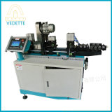 Automatic Coil Steel Bundy Aluminum Copper Tube Pipe Straightener and Chip-Less Clean Cutter