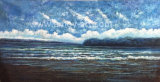 High Quality Seascape Oil Painting with Blue Sea and Sky for Home Decoration