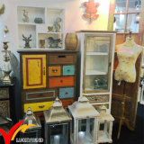Fuzhou Wholesale Vintage Antique Home Furniture Used Wooden Storage Cabinet