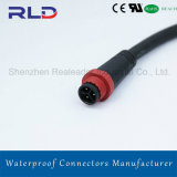 IP68 2pins Waterproof LED Connector for LED Lighting Power Cable