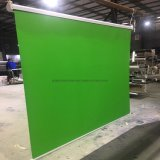 Manual Pull Down Roll up Green Screen Background with Self-Lock System