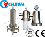 Wholesale 304 316 Stainless Steel Gas Air Filter Housing Water Purifier Treatment Machine