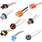 Ceramic Car Auto Headlight Connector Plug H4 Lamp Bulb Socket Wiring Harness