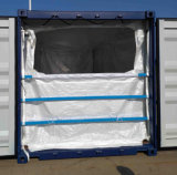 PP Container Liner Bag 20 FT Container Dry Bulk Liner with Zipper for Granular or Power