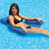 Air Hammock Lounge Chair for Swimming Pool Summer Beach Bed Inflatable Water Floating Bed