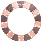 Fricwel Auto Parts Sintered Friction Copper Pad Miba Clutch Button for Racing Cars 9875-3