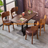 Cheap American Country Retro Wood Furniture, Wrought Iron Table in The Restaurant The Family Dinner Table Dinette Combination Dining Tables