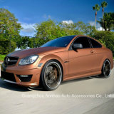 Metallic Brown Matte Chrome Car Wrap Vinyl Film PVC Material