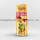 250ml Korea Red Ginseng Carbonated Energy Drink with Pear Juice and High Taurine