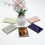 1.0-6.0mm Tinted Aluminium Mirror with Pink/Grey/Bronze/Copper Color