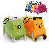 Cute Kids Trolley Bag Dog Shape Kid Toy Travel Luggage Bbl19