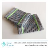 Grey/Neon Green Pattern Wrist Support