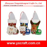 Christmas Decoration (ZY16Y180-1-2-3 19CM) Kid Santa Candy Boot Christmas Beads