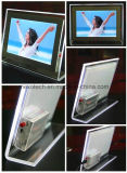 Table-Putting LED Acrylic Photos Frame Crystal Picture Frame (CST03-B)
