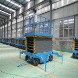 Top Sale 500kg 12m Electrical Hydraulic Mobile Vertical Scissor Man Lift Work Platform Price