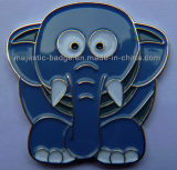 Cute Lapel Pin& Silver Plating (Hz 1001 P077)