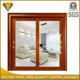 Powder Coated Aluminum Terrace Double Glazed Sliding Door Mosquito Netting Price