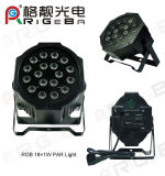 18*1W RGB Indoor LED Stage PAR Can Light