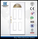 Modern Wood Door Look Hand Craft Fiberglass Door