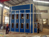 Long Bus Spray Paint Booth, Industrial Coating Line Machine