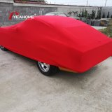 Vintage Car Indoor Protective Car Cover 4-Way Elastic Dust-Proof Anti-Scratch Auto Cover
