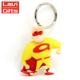 Personalized Custom Cute Captain American Despicable 3D Keychain PVC Anime Keychain Gift