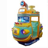 Coin Operated Kiddie Ride Rocking Submarine Interactive Game Kiddie Ride Indoor Amusement Swing Game Machine