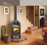 6kw Wood-Burning Stove/Fireplace/Heater Cl06