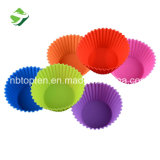 Food Grade Silicone Cake Mould Round Silicone Muffin Cups
