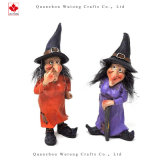 Hotsale Polyresin Crafts Halloween Witch
