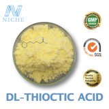 Healthcare Products Powder Alpha Lipoic Acid Raw Materials Dl-Thioctic Acid CAS: 1077-28-7