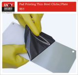 Pad Printing Thin Steel Plates for Tampoprint Machine (302)